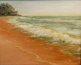 Coastal Waters - Oil 12x16
